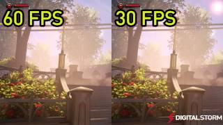 60 FPS vs 30 FPS Gaming Smoothness Comparison