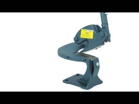 Harbor Freight Throatless Shear Review Beverly B1
