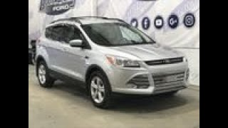 Pre-owned 2015 Ford Escape SE W/ 2.0L EcoBoost, Leather Overview I Boundary Ford
