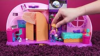 Polly Pocket Deutsch 💜Aufräumen 💜Polly Pocket Spielzeug 💜🌈Videos für Kinder