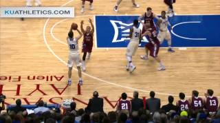 Kansas Cruises Past Lafayette 96-69 // Kansas Basketball // 12.20.14