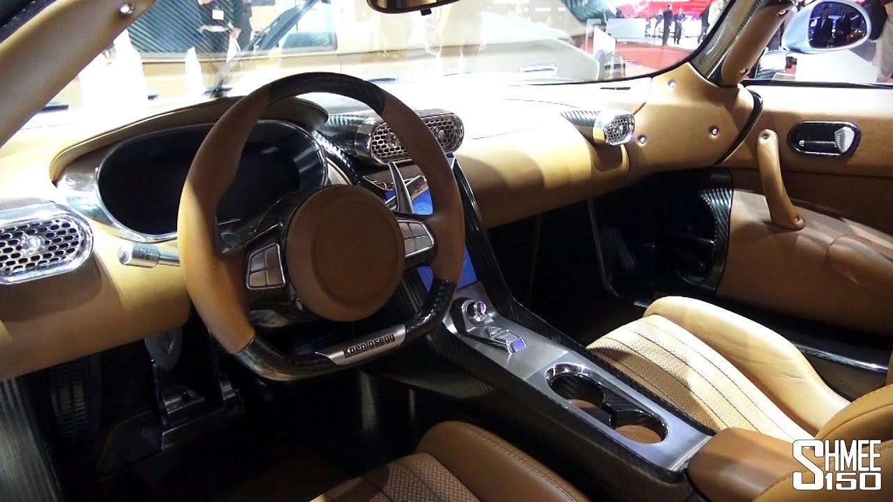 Koenigsegg Agera R Interior
