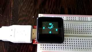 MicroView Demo Boot-Up