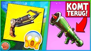 *LEAKED* GRAPPLING HOOK & GUIDED MISSILE KOMT TERUG!! - Fortnite: Battle royale