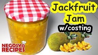 Jackfruit Jam Recipe   Minatamis na Lanka   Food Business Ideas in the Philippines