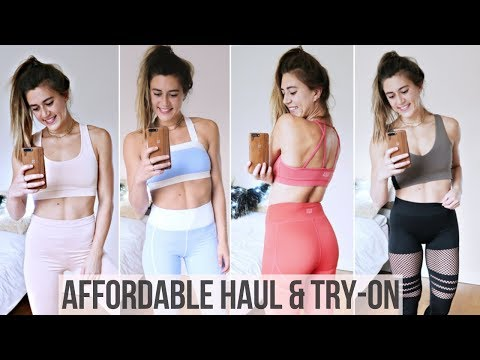 GYM CLOTHING HAUL & TRY-ON