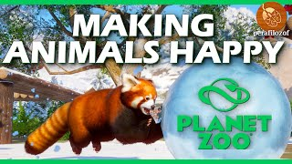 Planet Zoo How to make animals happy tutorial, Guide #5