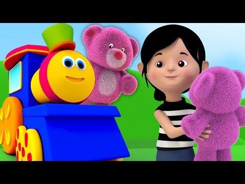 bob il treno | orsacchiotto girare intorno | canzone per bambini | Kids Song | Bob Teddy Bear