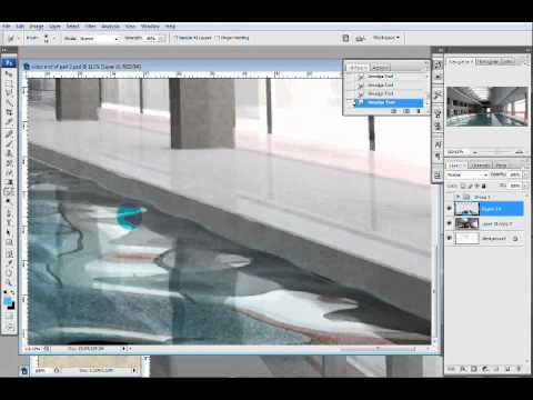 Pool Rendering: Workflow Videos | Visualizing Architecture