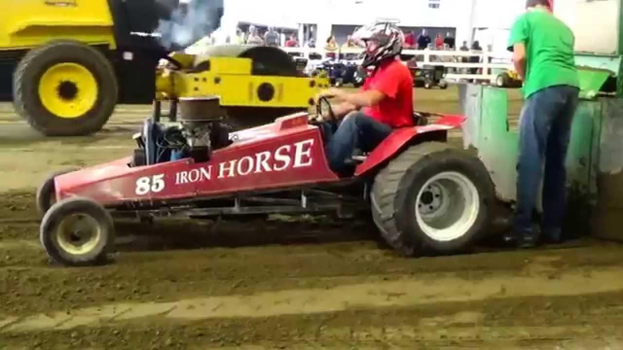 Mini Mod Tractor Pulling : Loud mini mod tractor pull lawn mower part