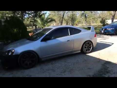 TYPE R WING ON THE RSX YouTube - Acura integra type r wing