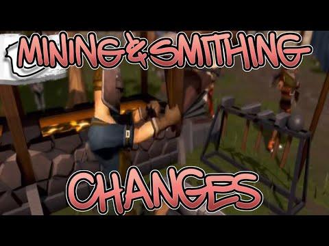 Mining & Smithing Changes! - February 3, 2020 - RuneScape 3