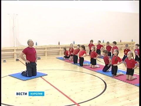 В школе №48 Петрозаводска отремонтировали спортзал