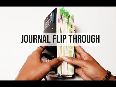 Moleskine Journal Flip Through (Ideas For Beginners)
