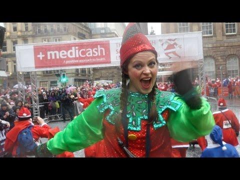 Medicash Liverpool Santa Dash 2015