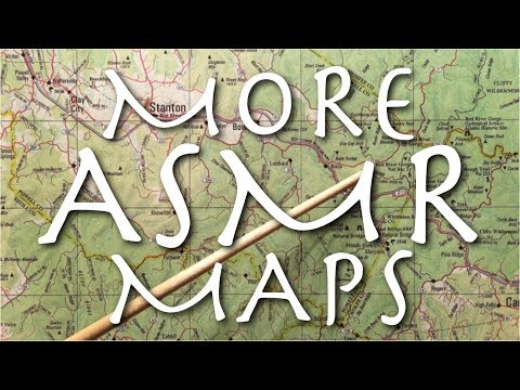 More ASMR Maps (soft speaking, tracing, pointing)
