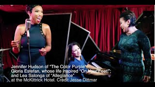 United Colors of Broadway: Gloria Estefan, Jennifer Hudson, and Lea Salonga