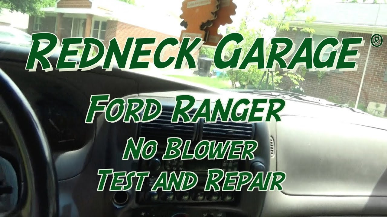 Ford Ranger No Blower Fix And Repair Power Probe Iii Youtube 1996 Under Hood Fuse Box