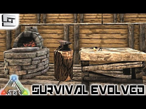 ARK: Survival Evolved - METAL TOOLS! E5 ( Gameplay )