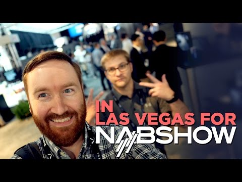 I'm speaking on-stage at NABShow! | Hey.film podcast ep16