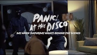 Panic! At The Disco - Say Amen (Saturday Night) [Behind The Scenes]
