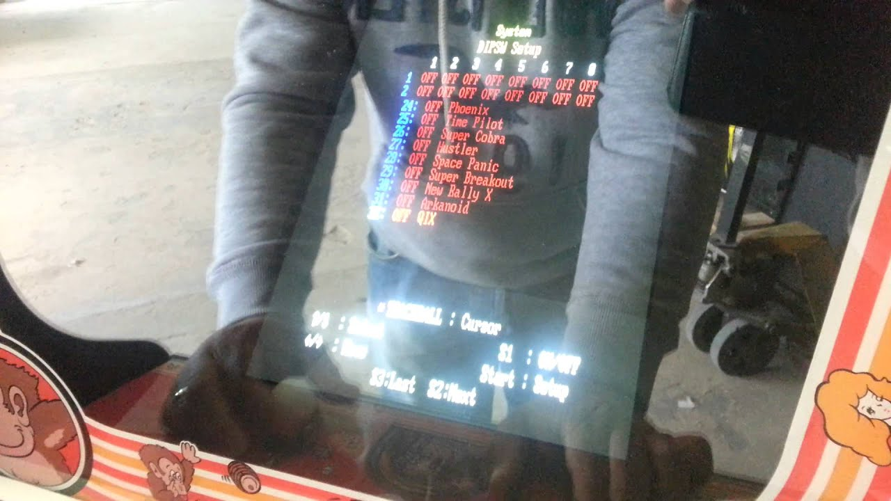 Adjusting Settings On A 60 In 1 Arcade Pcb Youtube Icade Jamma Wiring Harness