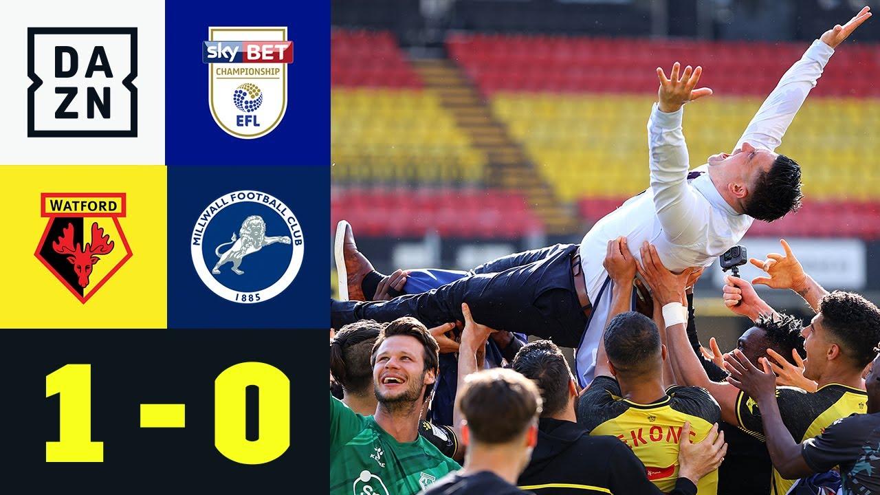 Xisco Munoz führt die Hornets zurück ins Oberhaus: Watford - Millwall 1:0   EFL Championship   DAZN