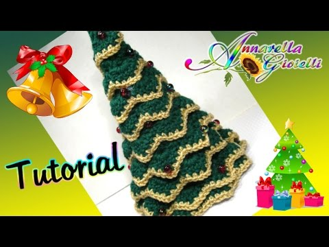 Albero Di Natale Alluncinetto.Tutorial Albero Di Natale All Uncinetto Senza Punto Coccodrillo How To Crochet A Christmas Tree Youtube