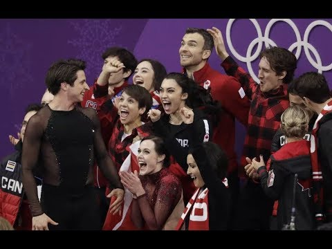 This and That: 2018 Olympic Games Team Event with Kimmie Meissner