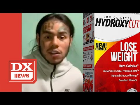 Tekashi 6ix9ine Resurfaces With New Look Following Hydroxycut Overdose