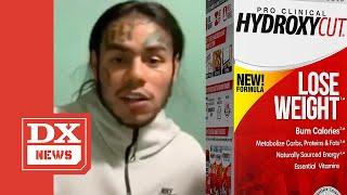 Tekashi 6ix9ine Resurfaces With New Look Following Hydroxycut Overdose
