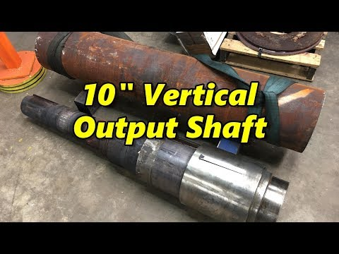 10 Inch Vertical Output Shaft Part 1