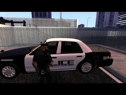 The Godfather Gaming | Santos Police Supervisor #2 | Code Red
