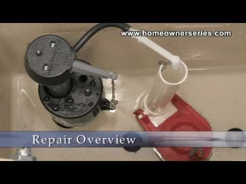 How To Fix A Toilet - Flush Valve Replacement - Part 1 Of 2 - Youtube