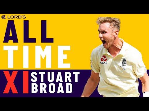 Tendulkar, Lara & Hadlee - Stuart Broad's All Time XI