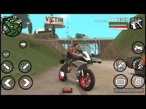 GTA San Andreas KTM 390 Bike Mod  By Technical Gaming