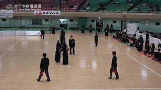 AICHI vs TOKYO 11th All Japan Interprefecture Ladies KENDO Championship 2019 3rd Round