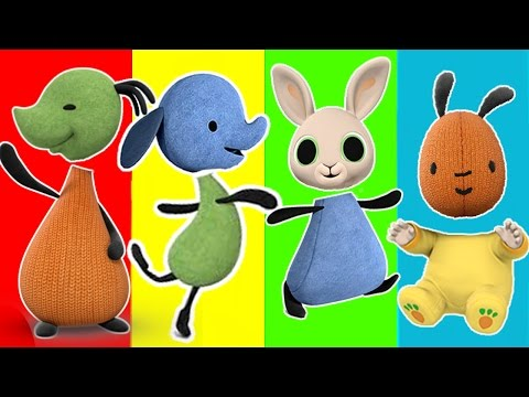 Wrong Heads BING BUNNY FRIENDS Finger Family Nursery Rhymes