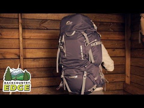 bae3dc14456 Lowe Alpine Atlas ND 65 Women's Backpack - YouTube