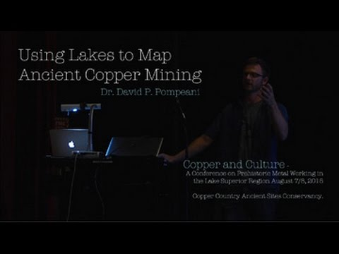 USING LAKES TO MAP ANCIENT COPPER MINING