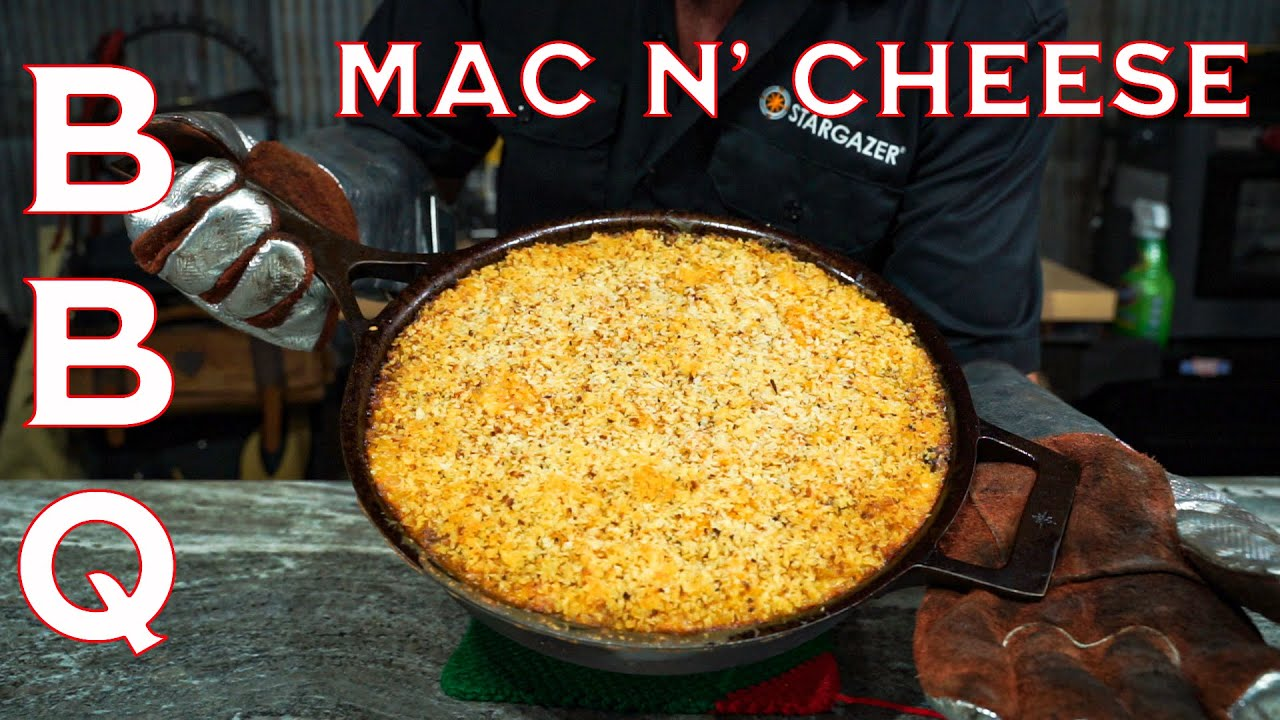 Smoked Pulled Pork Mac and Cheese