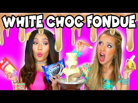 Download Youtube: White Chocolate Fondue Challenge: Gummy Bears and Unusual Lunch Meat. Totally TV