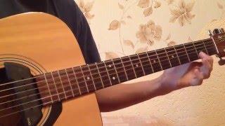 Легкая мелодия на гитаре! (видеоурок для начинающих гитаристов)