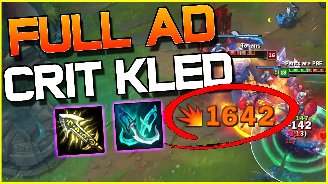 Lol Kled Charges The Rift