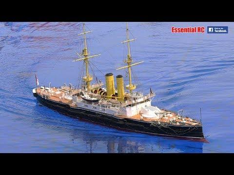 HMS CANOPUS British Royal Navy BATTLESHIP Steam powered RC Radio Controlled super scale detail