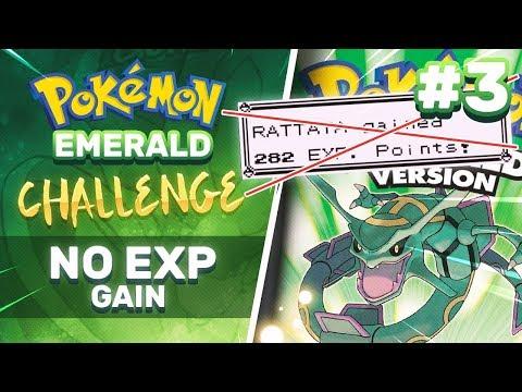 No EXP Challenge | Pokemon Emerald Part 3