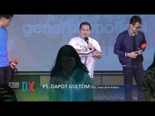 Ps. Dapot Gultom - Jujur Apa Adanya - GEL Youth Sermon