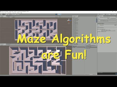Maze Algorithms in Unity - No Man's Sky Edition!
