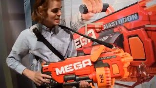 First Review: Nerf MASTODON (MEGA Full Auto Monster)