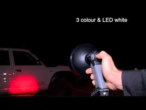 Enforcer LED 4 Colour Hunting Light